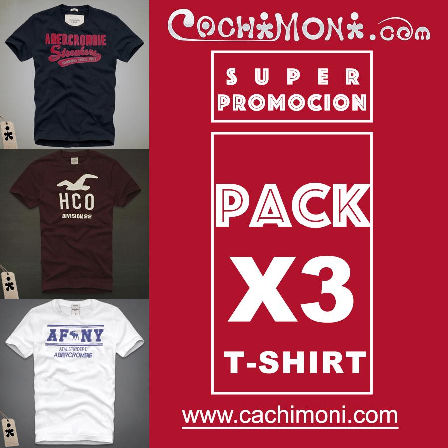 PACK CAMISETAS X 3