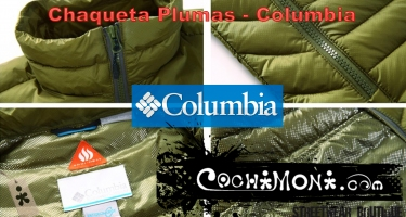 Chaqueta Columbia Plumas